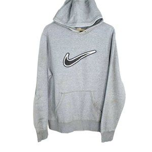 Vintage Nike Center Swoosh Embroidered Hoodie